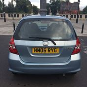 Honda Jazz DSI SE 1.4 Manual Petrol boot view